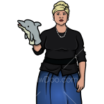 How to Draw Pam Poovey, Archer