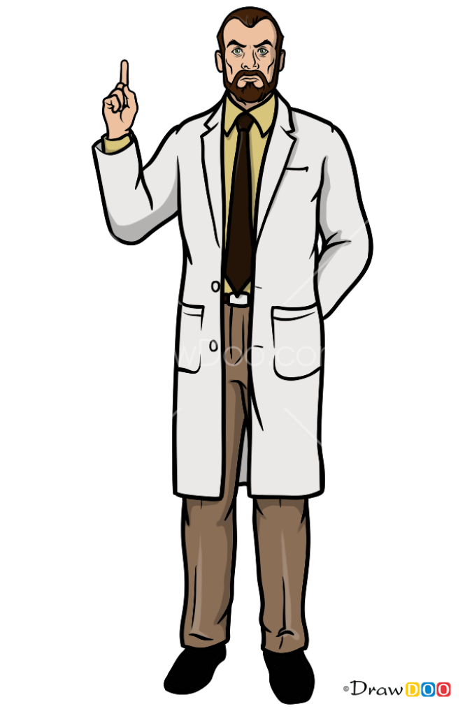 How to Draw Algernop Krieger, Archer