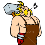 How to Draw Fulliautomatix, Asterix and Obelix