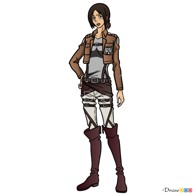 How to Draw Ymir, Attack On Titan
