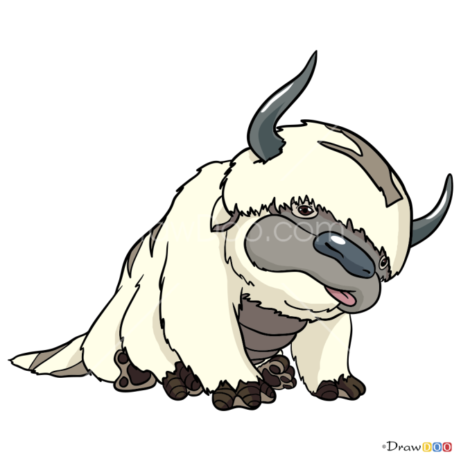 How to Draw Appa, Avatar