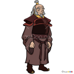 How to Draw Iroh, Avatar