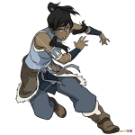 How to Draw Korra, Avatar