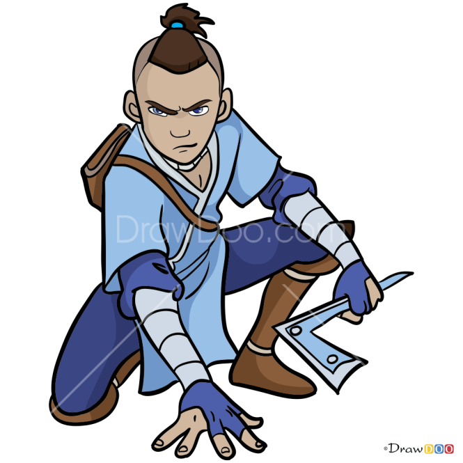 How to Draw Sokka, Avatar