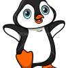 How to Draw Baby Penguin, Baby Animals