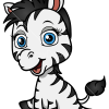 How to Draw Baby Zebra, Baby Animals