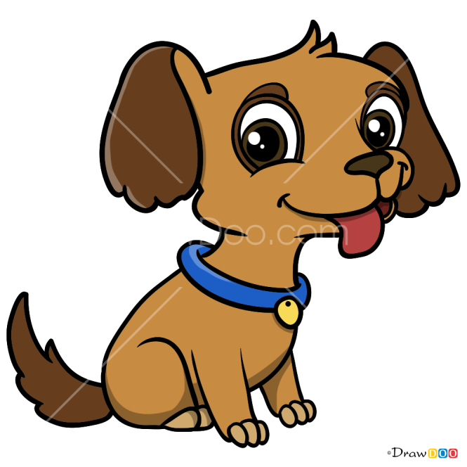 How to Draw Puppy, Baby Animals