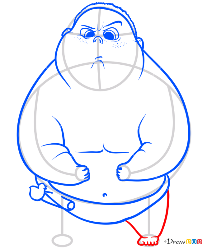 How to Draw Jimbo, Baby Boss