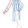 How to Draw Louis Merante, Ballerina