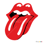 How to Draw The Rolling Stones, Bands Logos