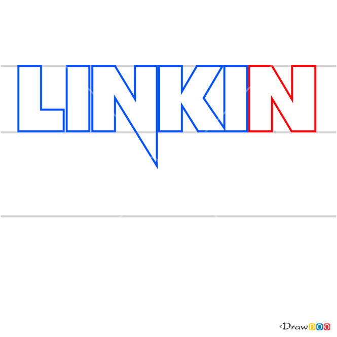 How to Draw Linkin Park, Bands Logos
