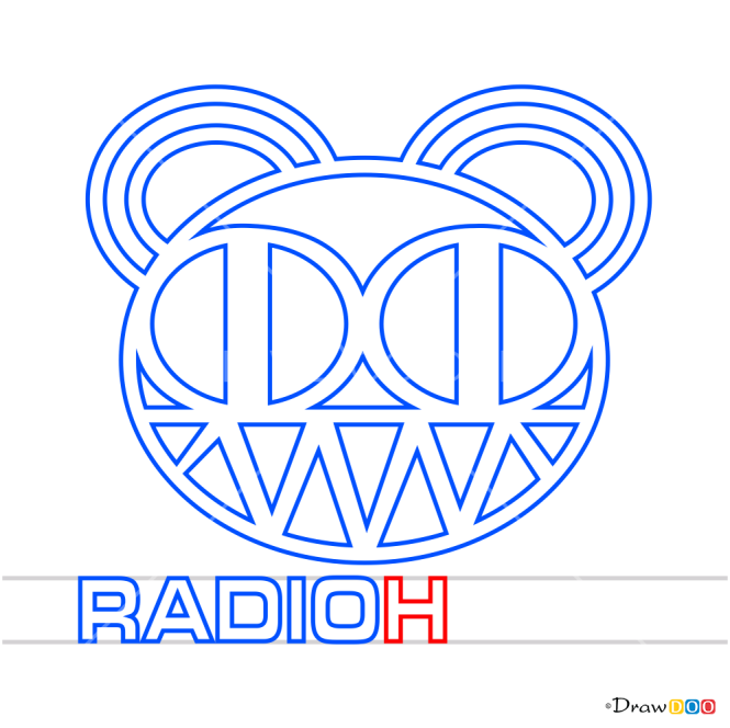 How to Draw Radiohead, Bands Logos