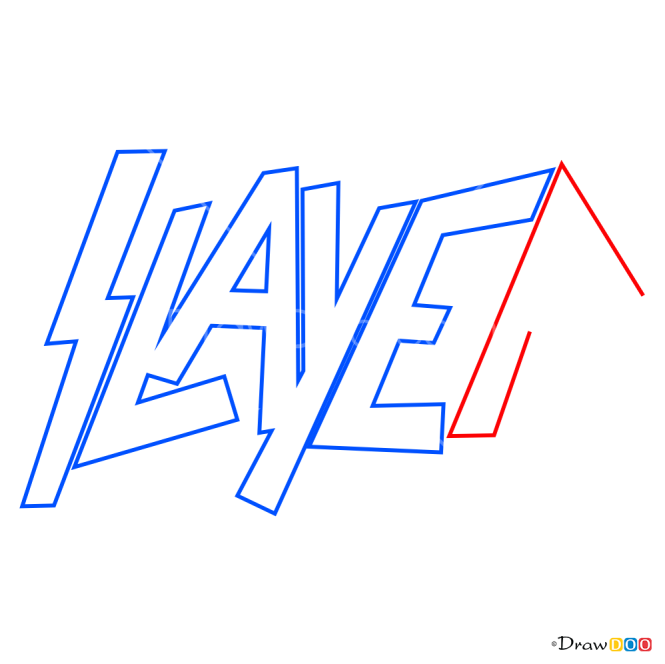 How to Draw Slyer, Bands Logos