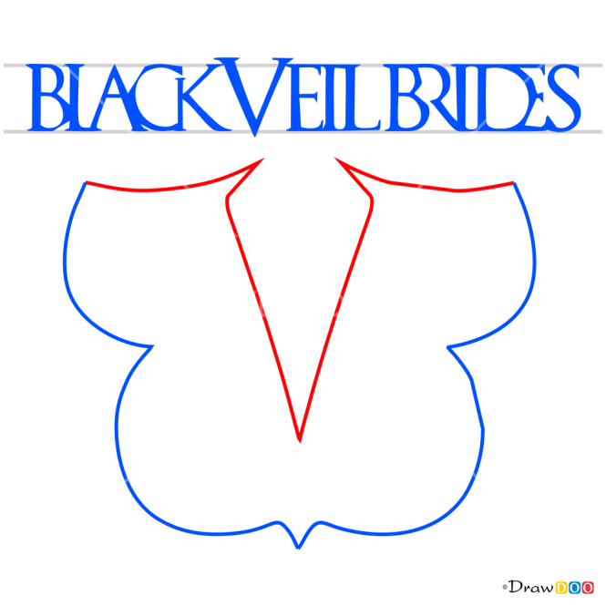 How to Draw Black Veil Brides, Bands Logos