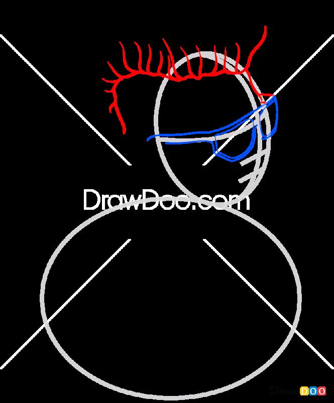 How to Draw Rap Monster, Bangtan Boys