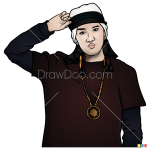 How to Draw J-Hope, Bangtan Boys