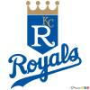 How to Draw Kansas City Royals, Baseball Logos