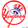 How to Draw N.Y Yankees, Baseball Logos