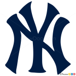 How to Draw New York Yankees, Baseball Logos