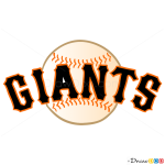 How to Draw S.F Giants, Baseball Logos