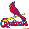 How to Draw St. Louis Cardinals Logo, Baseball Logos
