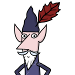 How to Draw Wise Old Elf, Ben and Holly Little Kingdom