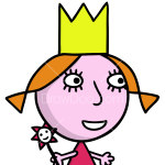 How to Draw Hollys Sister, Ben and Holly Little Kingdom