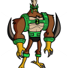 How to Draw Kickin Hawk, Ben 10
