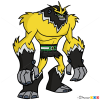 How to Draw Shockquatch, Ben 10
