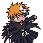 How to Draw Ichigo Kurosaki, Chibi, Bleach Manga