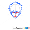 How to Draw Ichigo Kurosaki, Face, Bleach Manga