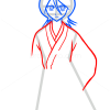 How to Draw Rukia Kuchiki, Bleach Manga
