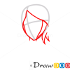 How to Draw Rukia Kuchiki, Face, Bleach Manga