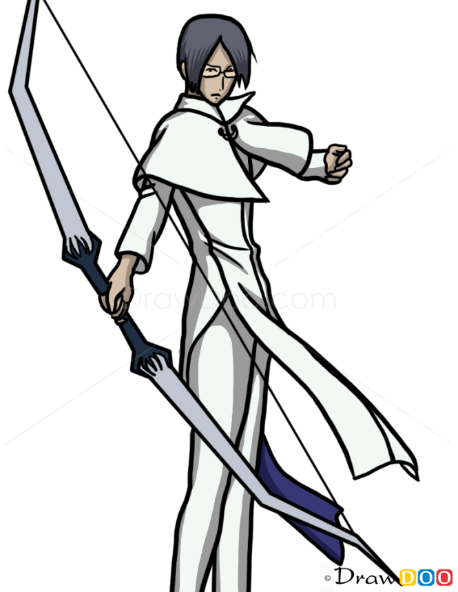 How to Draw Uryu Ishida, Bleach Manga