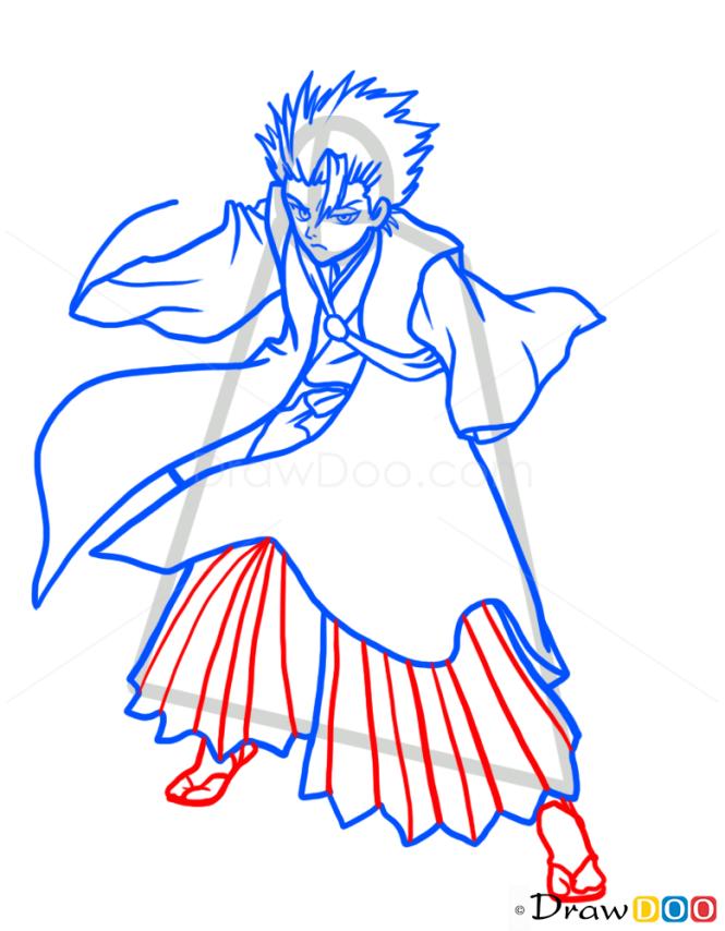 How to Draw Toshiro Hitsugaya, Bleach Manga