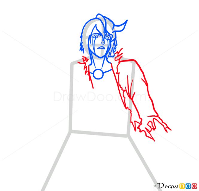 How to Draw Ulquiorra Schiffer, Bleach Manga