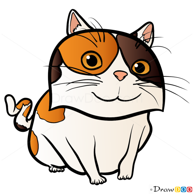 How to Draw Cat, Home Cartoon