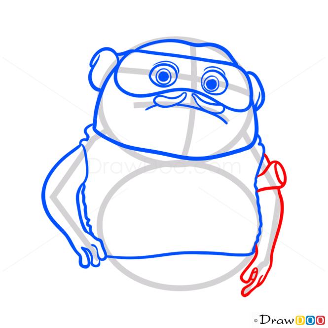 How to Draw Kyle, Home Cartoon