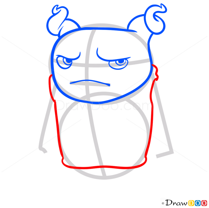 How to Draw Oh Orange, Home Cartoon