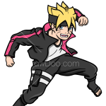 How to Draw Boruto, Boruto