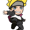 How to Draw Boruto Chibi, Boruto