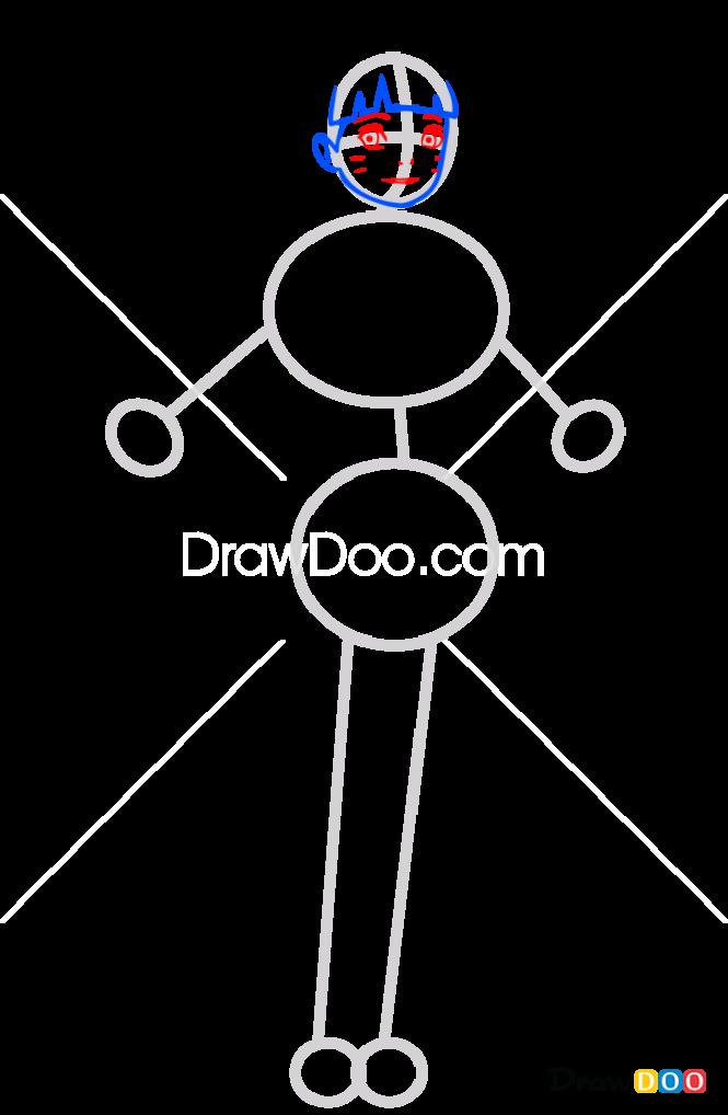 How to Draw Himawari Uzumaki, Boruto