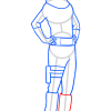 How to Draw Metal Lee, Boruto
