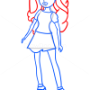 How to Draw Jade Core Doll, Bratz