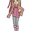 How to Draw Cloe Twisty Style, Bratz