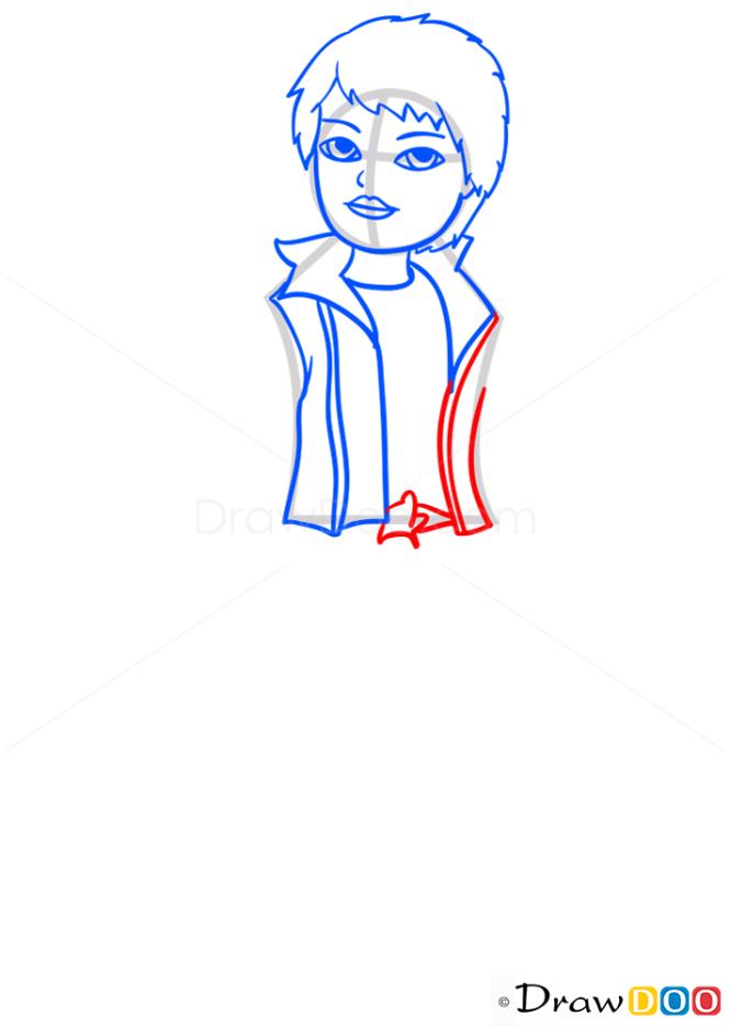 How to Draw Cade BOYZ Xpress It, Bratz