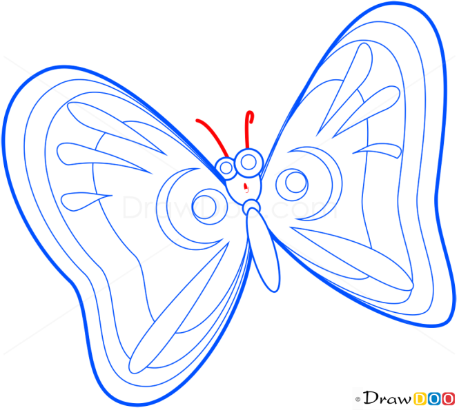 How to Draw Adored Butterfly, Butterflies