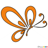 How to Draw Butterfly Logo, Butterflies