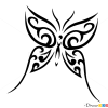 How to Draw Butterfly Tattoo, Butterflies
