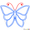 How to Draw Green Butterfly, Butterflies